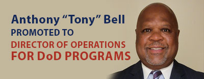 ProSource360's Tony Bell Promoted to Director of Operations for DoD Programs